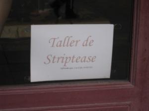 Taller de Striptease