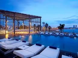 Piscina del hotel W Barcelona